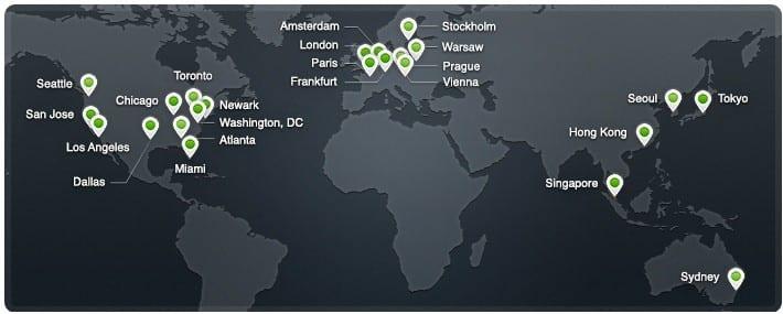 CDN-locations